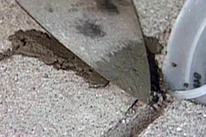 This picture shows concrete repair in Seattle and nearby cities